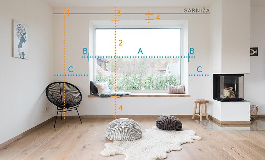 Záclony závesy podľa typu miestnosti